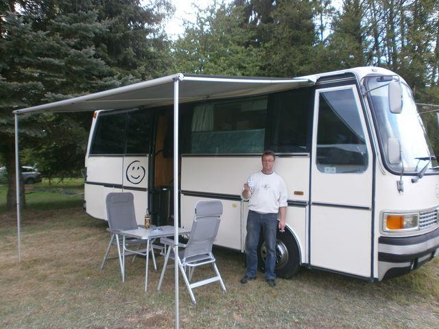 Setra 208 wohnmobil